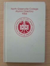 NORTH GREENVILLE COLLEGE ALUMNI DIRECTORY - 1984