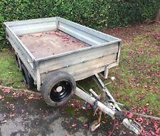 More details for wessex 8' x 5' dropside trailer no vat  brakes & lights all working