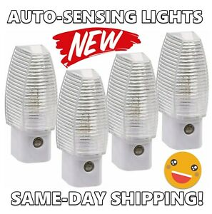 NEW Sunbeam 4-Pack Energy Savings Automatic Dusk to Dawn Sensor LED Night Lights