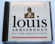 2004 - LOUIS ARMSTRONG'S ALL TIME GREATEST HITS - MCA  MCAD 11032 - LIKE NEW