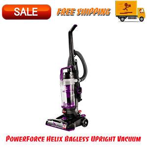 PowerForce Helix Bagless Upright Vacuum, Lightweight Maneuverable, Purple Color