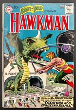 BRAVE+BOLD 1961-62 ALL 6 HAWKMAN APPS INCL#34 1ST SILVER APP,ALSO 35,36+42 TO 44