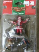 Coventry Cove Lemax FATHER CHRISTMAS SANTA Accessories Christmas Village Collect