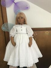 Fits Himstedt Birka And Others White Eyelet Dress Pantaloons #386 New #2