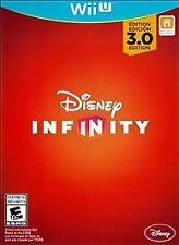 NEW Wii U Disney Infinity 3.0 Star Wars Marvels & Originals Game Only **Sealed**