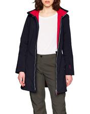 CMP Women's Coat Softshell Fleece Anthracite Corallo (3a08326) BNWT Size XL