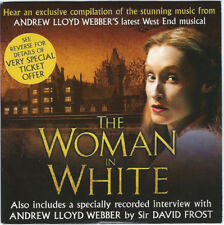 THE WOMAN IN WHITE - PROMO CD (2005) ANDREW LLOYD WEBBER / WILKIE COLLINS