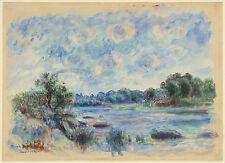 Auguste Renoir Reproductions: Landscape at Port-Aven - Fine Art Print