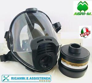 Maschera Panoramica pieno Facciale Panarea con FILTRO A2 P3 R Protettiva EN 148