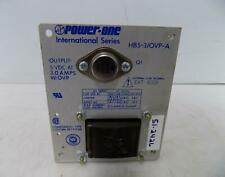 POWER-ONE 3.0AMP POWER SUPPLY HB5-3/OVP-A