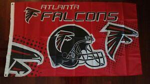 Atlanta Falcons 3x5 Flag. US seller. Free shipping within the US