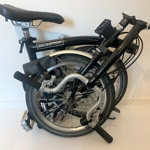 BROMPTON H3L Folding Bike Limited Edition STARDUST BLACK WORLDWIDE SHIPPING