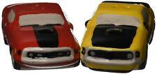 Westland Giftware 25128 Ford Mustang Magnetic Ceramic Salt & Pepper Shaker Se...