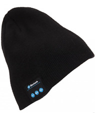 Bluetooth Knitted Beanie Hat   Running Exercise Bluetooth Music   BLACK
