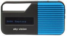 DAB+ Radio sky vision DAB 11 B | Sport Mini Digitalradio | UKW | Akku | Blau