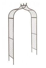 Garden Arch Versailles (2.4m x 1.2m) Gardman Metal Arches Wedding Arbour