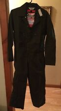 Vintage Nwt Key Imperial Prest Made Usa Men'S 38 Short Green Carpenter Coveralls