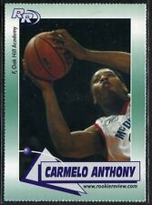 2002 CARMELO ANTHONY OAK HILL ACADEMY ROOKIE CARD RC Chicago BULLS!