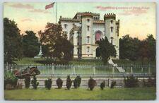 Louisiana capitol at Baton Rouge 1915 Vintage Postcard
