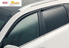 2014-2015  KIA SORENTO SPORT VISOR/RAIN GUARDS VISOR 4PC SET 1U022 ADU01