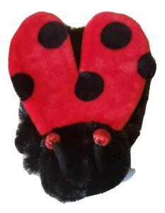 Top Paw Super Soft Plush LADYBUG Halloween Dog Pet Costume *Fast Ship*