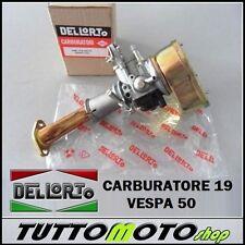 KIT CARBURATORE 19-19 COMPLETO DELLORTO PIAGGIO VESPA 50 SPECIAL / L N R NUOVO