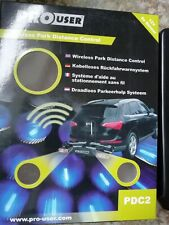 "PDC2 ""WIRELESS PARK DISTANCE CONTROL SENSOR FOR CARS, CARAVANS, BOATS & TRAILERS"