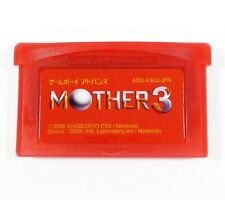 Mother 3 (Earthbound 2) ENGLISH GBA Gameboy Advance Red Custom Cartridge RPG
