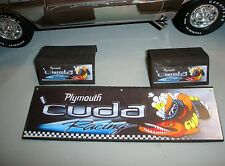 1/18 -Plymouth CUDA Accessory Garage Set-19 piece's-for your shop/garage/diorama