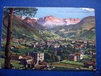 Cartolina Sudtirol Gries Bozen mit dem Rosengarten ^