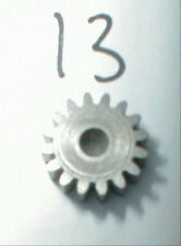 Metal standard Pinion Gear 13 Tooth 48 Pitch .078 shaft motors Weldun Nos