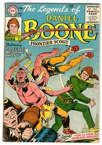 Legends of Daniel Boone  4    SCARCE  1956 DC Comic   Nic Cardy Cover