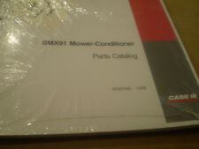 CASE IH PARTS CATALOG SMX91 MOWER CONDITIONER