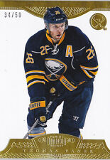13-14 Dominion Thomas Vanek /50 GOLD Base Panini