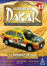 FASCICULE RENAULT 20 TURBO MARREAU LEGENDE DU DAKAR N13