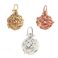 1pcs Weave Ball Locket Pendant Aromatic Essential Oil Diffuser DIY Necklace