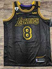 NWT Los Angeles Lakers Kobe #8 #24 Black Mamba Day Swingman jersey