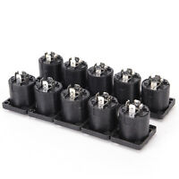 10x Speakon 4 Pin Female jack Compatible Audio Cable Panel Socket Connector WS