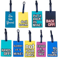 JP_ Luggage Tags Suitcase Hand Bag Baggage Name Address ID Label Travel Sweet