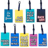 Luggage Tags Suitcase Hand Bag Baggage Name Address ID Label Travel Sweet