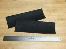 2 Pcs Peel-And-Stick Black Moleskin Felt For Crafts And More + Free Ship!