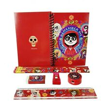 Disney Red Coco Stationary Set Back to School Supplies for Kids 8 Pieces