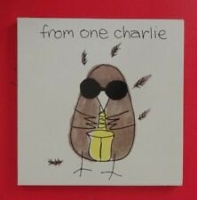 CHARLIE WATTS.FROM ONE CHARLIE LIMITED EDITION BOX.1991 UK.CD.PRINT. SIGNED BOOK