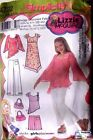 SIMPLICITY LIZZIE McGUIRE TOPS & PANTS SEWING PATTERN NO.4722 SIZE 8-10-12