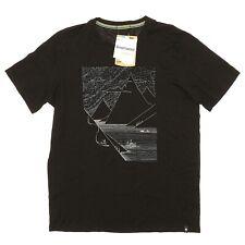 SmartWool Black Merino 150 Fjord Slider T-Shirt Men's Size Medium 5822