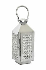 Crystal Candle Lantern Pillar Candle Holders Wedding Table Hanging Centerpieces