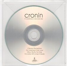 (FC169) Cronin, In Loneliness Lives Love EP - DJ CD