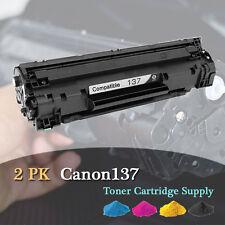 2PK Canon137 137 New Toner Cartridge For Canon MF212w MF216n MF227dw MF229dw