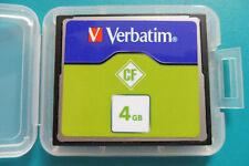 Verbatim CompactFlash, CF.- Karte, CF.-Card, 4GB., + neue Box, Nr. 714b