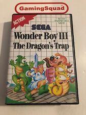 Wonder Boy 3 The Dragon's Trap Sega Master System, Supplied by Gaming Squad
